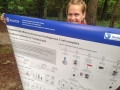 Ulrike and her presentation poster
