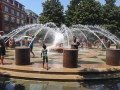Fountain of drowning at Waterfront Park