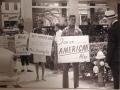 Civil Rights protest picture