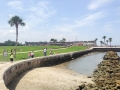Castillo de San Marcos in the distance