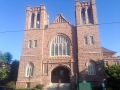 The church I stayed at in Pensacola