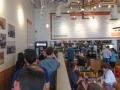 Taco Deli lunch line