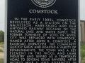 Comstock plaque