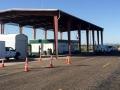 Inland boarder station